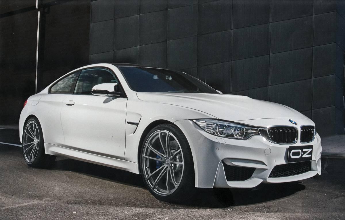 "Leichte Felge 20"" OZ ZEUS BMW M3 F80 BMW M4 F82 ..."